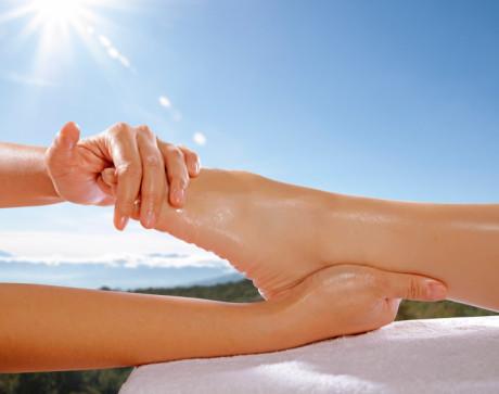 Foot Massage Concept