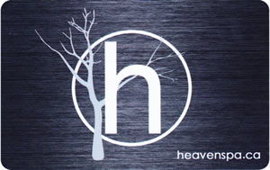 Gift Card from Heaven Spa