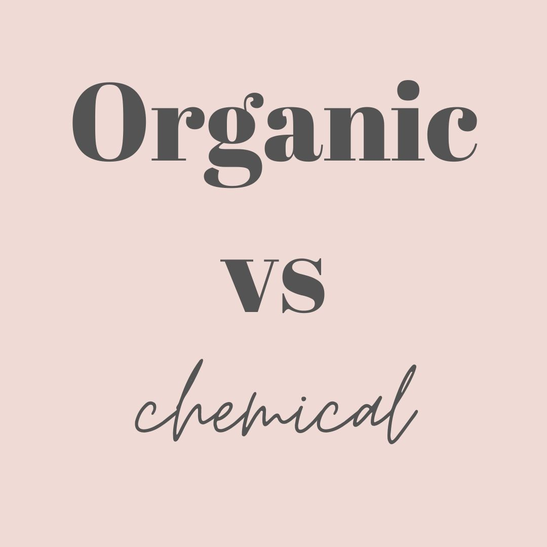 Organic vs. Chemical facials